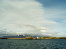 Island of videy. Video island in south west of iceland Stock Photography