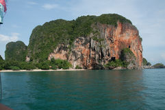 Island view tropical, andaman sea,Krabi Province Thailand Stock Photo