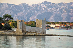 Island of Vir fortress ruins Stock Photos