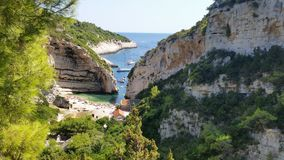 Island Vis Croatia royalty free stock photos