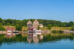Island of Visingso in Sweden royalty free stock image