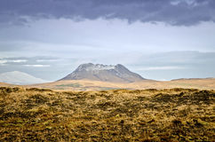 Island-Vulkan Lizenzfreie Stockfotos