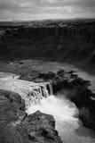 Island-Wasserfall Stockfotografie