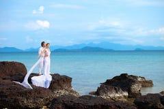 Island wedding Stock Photo