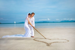 Island wedding Stock Photo