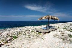 Island Zakynthos. Beautiful beach in Island Zakynthos Royalty Free Stock Photography
