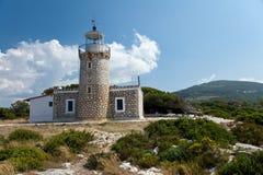 Island Zakynthos. Beautiful lighthouse in Island Zakynthos Stock Images