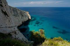 Island Zakynthos. Beautiful sea in Island Zakynthos Stock Photography
