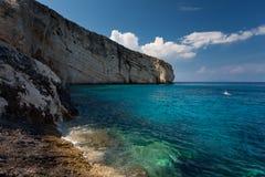 Island Zakynthos. Beautiful sea in Island Zakynthos Royalty Free Stock Photo