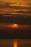 Island Zakynthos. Beautiful sunset in Island Zakynthos Royalty Free Stock Photo