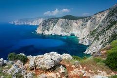 Island Zakynthos. Beautiful view in Island Zakynthos Stock Photos