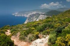 Island Zakynthos. Beautiful view in Island Zakynthos Royalty Free Stock Images