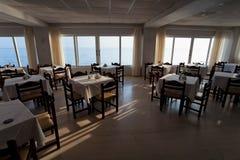 Island Zakynthos. Dinner room in Island Zakynthos Royalty Free Stock Images