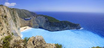 Island Zakynthos Stock Photos
