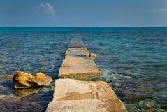 Island Zakynthos. Lost way in Island Zakynthos Stock Photo