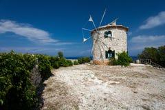 Island Zakynthos. Old mill in Island Zakynthos Stock Photo