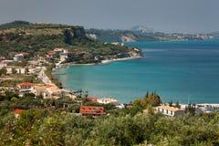 Island Zakynthos. Small village in Island Zakynthos Stock Photos
