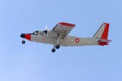 Islander Landing Stock Image