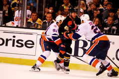 Islanders v. Bruins (NHL Hockey) Stock Photo