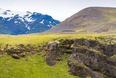 Islandese Hillside Fotografia Stock Libera da Diritti
