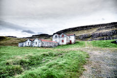 Islandia abandonó la granja Imagenes de archivo