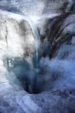 Islandia jest lodowiec topnieje Zdjęcia Royalty Free