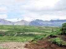 Islandia la vista de las montañas 2017 de Hvannadalshnukur Imagenes de archivo