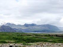 Islandia las montañas 2017 de Hvannadalshnukur Foto de archivo