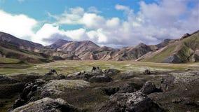 Islandia Laugavegur Foto de archivo libre de regalías