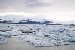 Islandia lodowiec Zdjęcie Stock