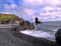Islandia Londrangar las formaciones de roca 2017 Fotos de archivo libres de regalías