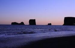 islandia morza Obraz Royalty Free