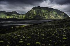 Islandia, reigion del sur Foto de archivo libre de regalías