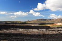 islandia sceniczny Fotografia Royalty Free