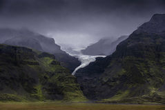 islandia Vatnajökull, glaciar Fotografía de archivo libre de regalías