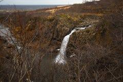 islandia wodospadu Zdjęcie Stock