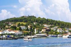 Islands公主在马尔马拉海,土耳其 免版税库存照片