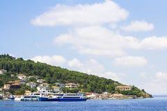 Islands公主在马尔马拉海,土耳其 免版税图库摄影