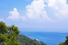 Islands公主在马尔马拉海,土耳其 免版税库存图片