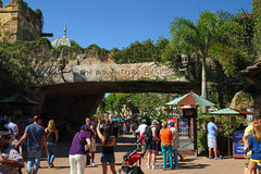 Islands of Adventure Entrance Stock Image