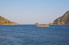 Islands in Aegean sea Royalty Free Stock Image