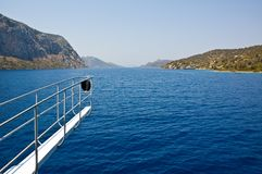 Islands in Aegean sea. Royalty Free Stock Images