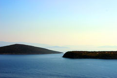 Islands in Aegean Sea Royalty Free Stock Photography