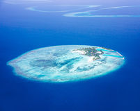 Islands aerial view Royalty Free Stock Photography