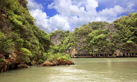 Islands in Andaman sea Royalty Free Stock Images