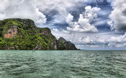 Islands in Andaman sea Royalty Free Stock Photo