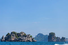 Islands in Andaman Sea Royalty Free Stock Image
