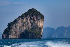 Islands in Andaman Sea. Beautiful Islands in Andaman Sea ,Krabi, Thailand Stock Images