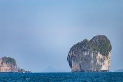 Islands in Andaman Sea. Beautiful Islands in Andaman Sea ,Krabi, Thailand Stock Photos