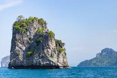 Islands in Andaman Sea. Beautiful Islands in Andaman Sea ,Krabi, Thailand Royalty Free Stock Photography
